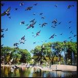Photo taken at Parque Centenario by Gustavo B. on 4/21/2013