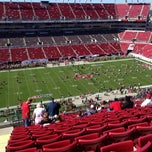 Photo taken at Raymond James Stadium by Taylor S. on 11/25/2012
