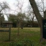 Photo taken at Melrose Plantation by Jonathan P. on 2/22/2015