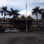 Photo taken at Polda Riau by Sanny H. on 11/21/2013