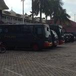 Photo taken at Polda Riau by Sanny H. on 12/9/2013