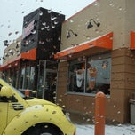 Photo taken at Dunkin' Donuts by Megan K. on 12/1/2012