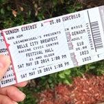 Photo taken at Racine Civic Center Festival Hall by Katrina K. on 5/10/2014