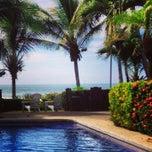 Photo taken at The Backyard Hotel Pool by Juliette B. on 12/17/2013