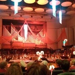 Photo taken at White Concert Hall by Roy B. on 12/9/2012