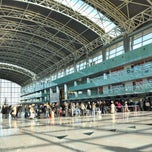 Photo taken at İzmir Adnan Menderes Airport (ADB) by Ahmet D. on 11/14/2013