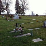 Photo taken at All Saints Cemetery by Jean V. on 12/22/2013