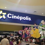 Photo taken at Cinepolis by Jessica C. on 6/23/2013