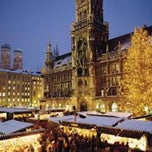 Photo taken at Christkindlmarkt by Dmitriy D. on 12/21/2012