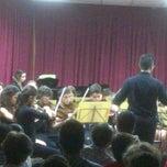 Photo taken at Conservatorio elemetal de Música Triana by Juan Ramón S. on 5/10/2013