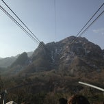 Photo taken at Seorak Sogongwon Cable Car Tour by คุณชายแอ้ม on 3/1/2013