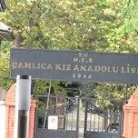 Photo taken at Çamlıca Kız Anadolu Lisesi by Köksal Ü. on 11/12/2012