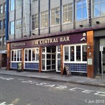 Photo taken at The Central Bar (Wetherspoon) by Roger N. on 6/1/2013