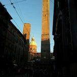 Photo taken at Torre Garisenda by Francesco S. on 12/9/2012