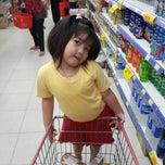 Photo taken at Hari Hari Supermarket Lokasari by BASTIAN H. on 11/21/2014