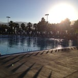 Photo taken at Palm Desert Aquatic Center by Erin P. on 11/28/2012
