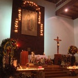 Photo taken at Parroquia De Nuestra Señora De Guadalupe by Angeles M. on 12/13/2012