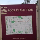 Photo taken at Rock Island Trail by Carl N. on 10/12/2012