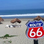 Photo taken at Playa Vichayito by Geisha S. on 3/10/2013