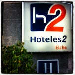 Photo taken at H2 Hotel Elche by Carlos N. on 12/4/2012