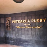 Photo taken at Campi Petrarca Rugby by Istituto B. on 2/16/2014