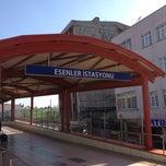 Photo taken at Esenler Metro İstasyonu by Nasri A. on 4/5/2013