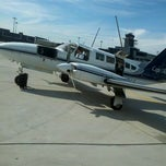 Photo taken at Lancaster Airport (LNS) by Brandon J. on 10/20/2012