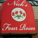 Photo taken at Nick's Four Roses Family Restaurant by Josh on 6/2/2014