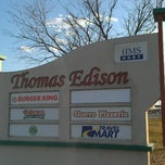 Photo taken at Thomas Edison Service Area by Marcus on 3/30/2013