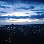Photo taken at 眉山公園 by Pani T. on 2/2/2013