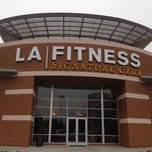 Photo taken at LA Fitness by Ali A. on 6/12/2013