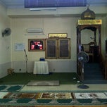 Photo taken at Masjid Tuan Hussain by Azmel on 3/19/2013