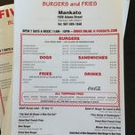 Photo taken at Five Guys by Krista K. on 10/31/2012