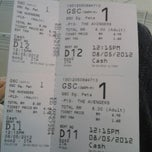 Photo taken at Golden Screen Cinemas (GSC) by Fareast D. on 5/8/2012