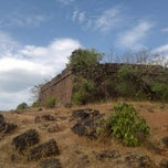 Photo taken at Chapora Fort by Jiggs R. on 11/27/2011