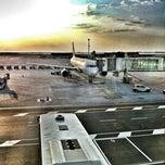 Photo taken at Aeroporto di Venezia Marco Polo (VCE) by Lorenzo B. on 7/30/2012