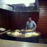 Photo taken at Mongolian Grill San Jacinto by Aura A. on 8/31/2011