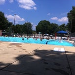 Photo taken at Upshur Swimming Pool by Nikki L. on 7/9/2011