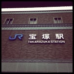 Photo taken at JR 宝塚駅 (Takarazuka Sta.) by Sammy525 on 2/5/2012