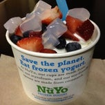 Photo taken at NuYo Frozen Yogurt by Yvette G. on 6/30/2012