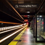 Photo taken at Lafayette BART Station by Timothy P. on 8/4/2012