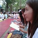 Photo taken at ลานธรรม วัดสังฆทาน by Bony .. on 8/3/2012