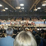 Photo taken at Lester E. Palmer Events Center by Kyle C. on 8/5/2012