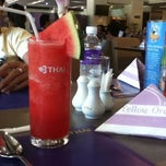 Photo taken at Thai Airways (TG) Restaurant by Ice N. on 4/8/2012
