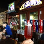 Photo taken at Liberty Steakhouse & Brewery by Donna M. on 5/16/2012