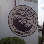 Photo taken at Taco John's by John P. on 4/14/2012