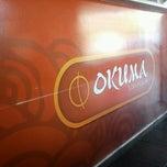 Photo taken at Okuma Sushi Passion by Martin N. on 5/14/2013
