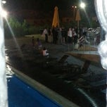 Photo taken at Misstanbul Poolside by Arzu on 8/25/2013