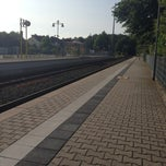 Photo taken at Bahnhof Köppern by Daniel D. on 7/14/2013