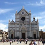 Photo taken at Basilica di Santa Croce by Luca R. on 5/22/2013